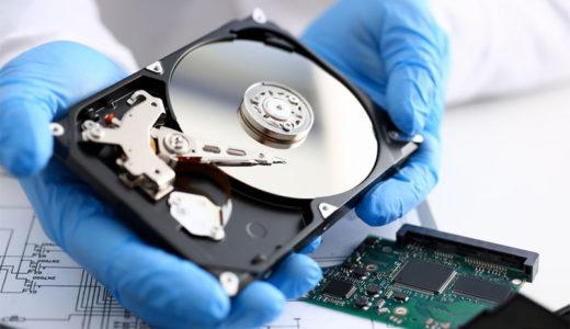 物理破損したHDDからデータ復旧する方法